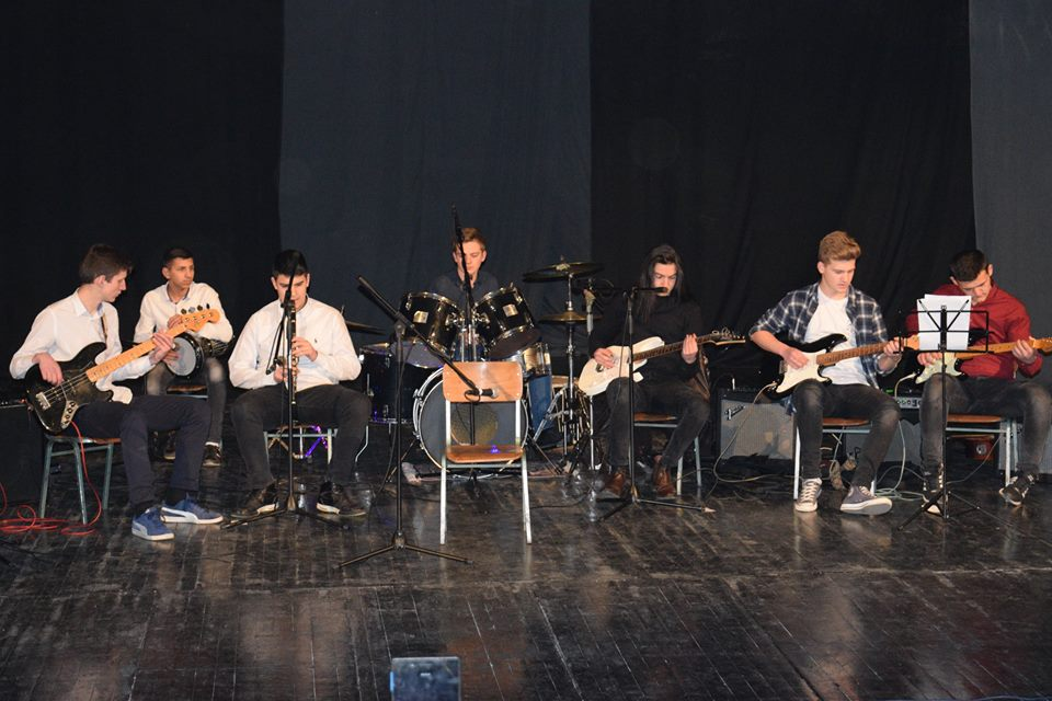 "New Year's Eve concert for young talents – ""Mirko Mileski"" local high school"