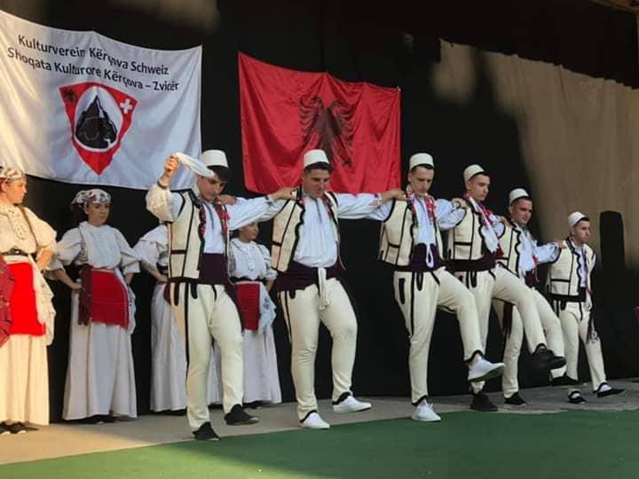 """Aktivitet nga """"Shoqata Kulturore Kërçova-Zvicër"""""""