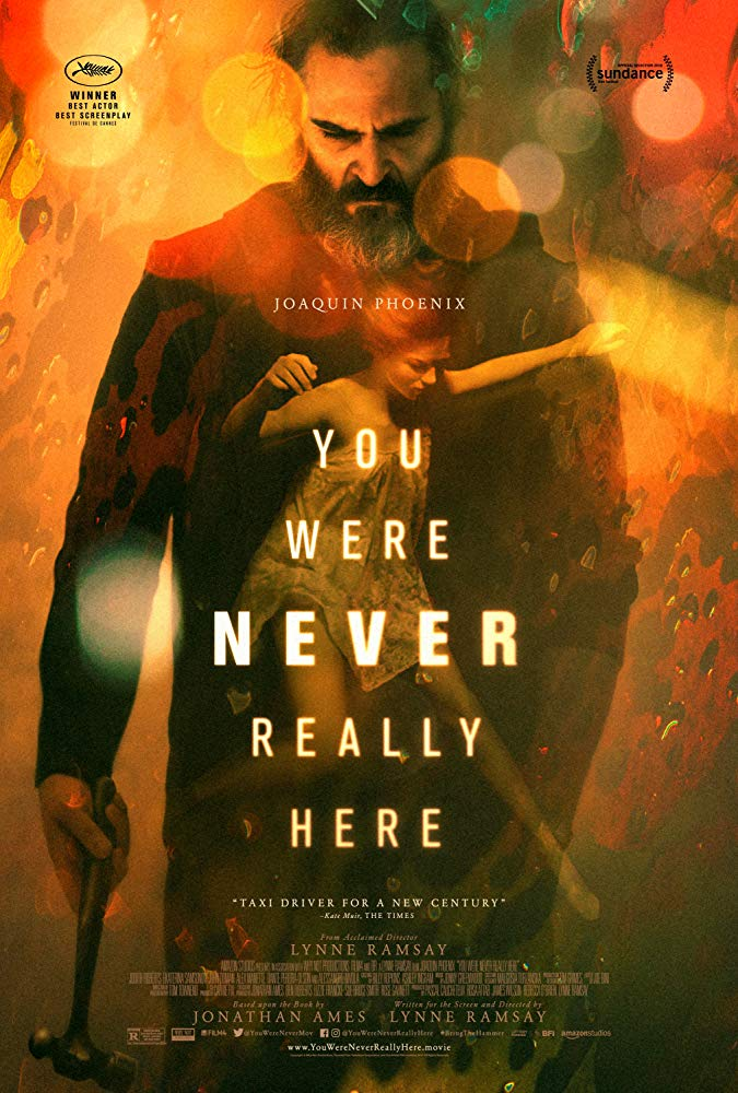"""Kinoprojeksion i filmit """"You Were Never Really Here"""""""