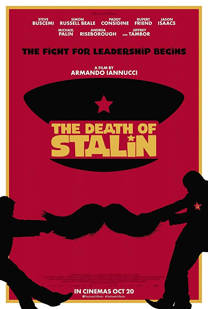 "Kinoprojeksion i filmit ""The Death of Stalin"""