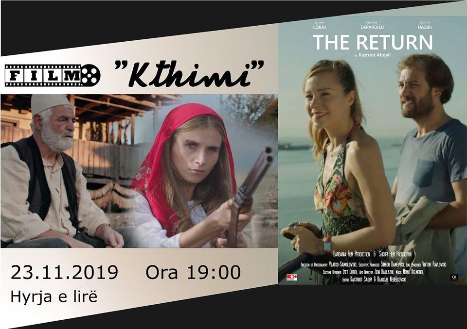 "Kinoprojeksion i filmit ""Kthimi"" nga regjisori Kastriot Abdyli"