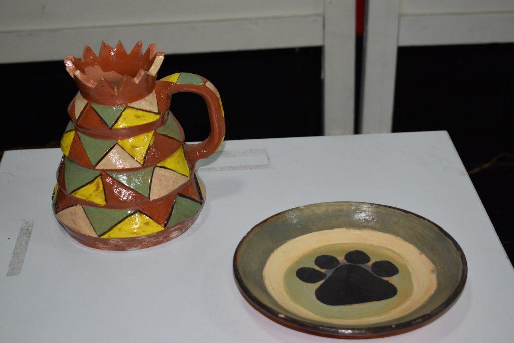 Изложба на Младинската керамичка работилница-Кичево 2019