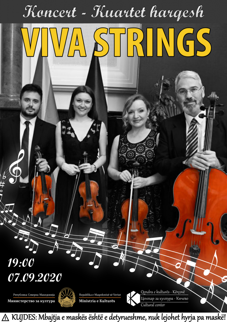 Koncert Festiv me VIVA STRINGS