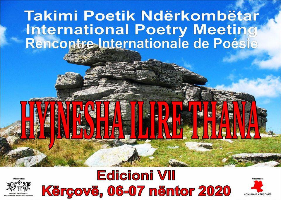 "Takimi Poetik Ndërkombëtar  ""Hyjnesha Ilire Thana"""