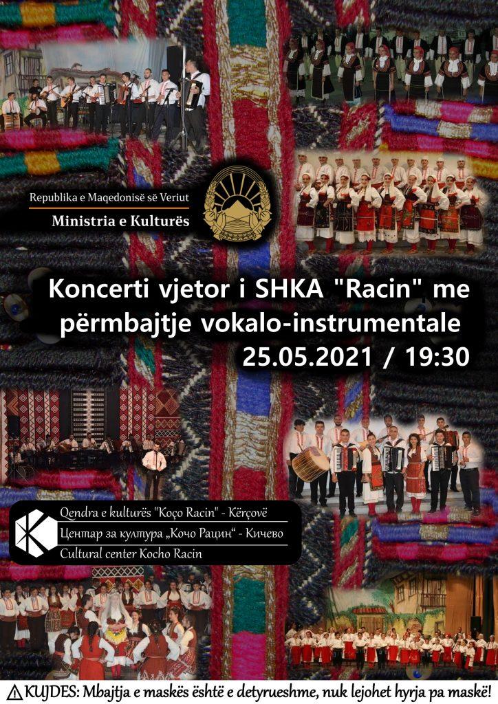"""Koncerti vjetor i SHKA """"Racin"""" me përmbajtje vokalo-instrumental"""