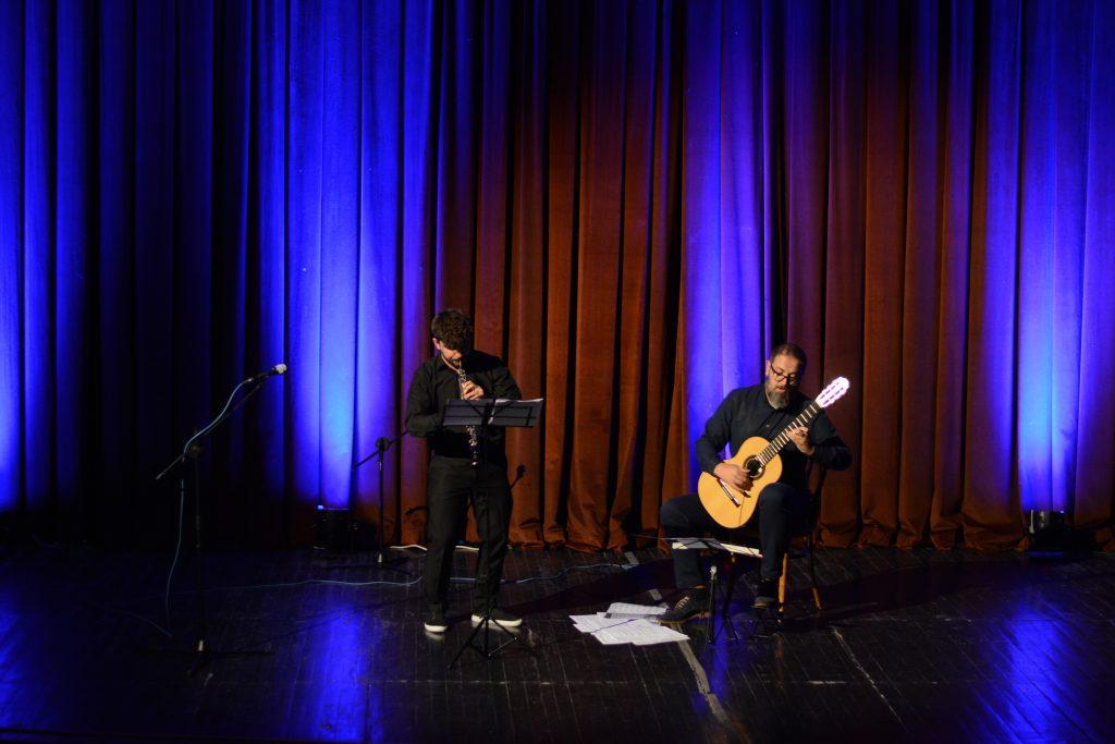 """Koncert """"Oboe dhe kitarë"""" nga Jetmir Mehmedi dhe Vullnet Neziri"""