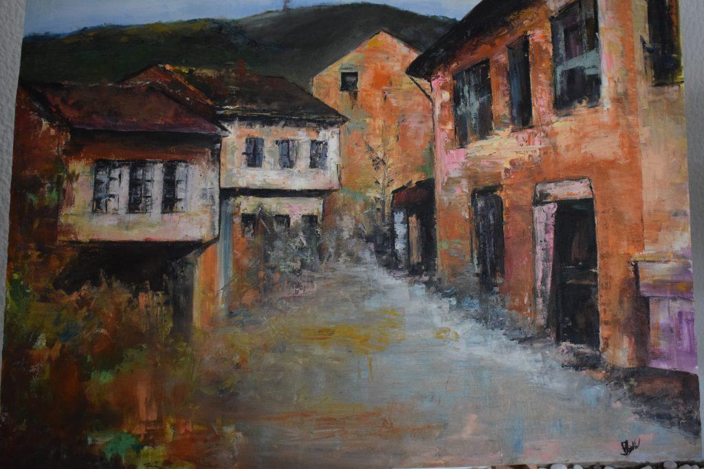 """Ekspozitë """"Bukuritë përrallore të shtëpive të vjetra"""" nga Valdeta Ibishi"""